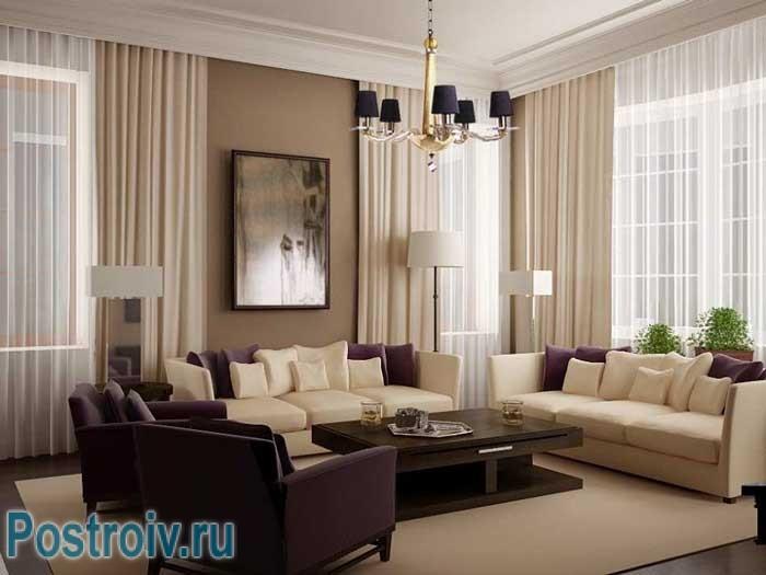 Как расставить мебель в комнате: выделение центрального элемента, стола