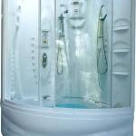 Дизайн душевой кабины в ванной