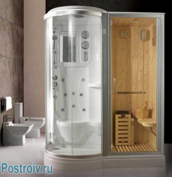 Душевая кабина с функцией парогенератора: сауна в вашей ванной