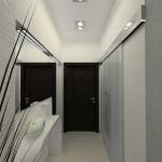 Узкий коридор дизайн проект
