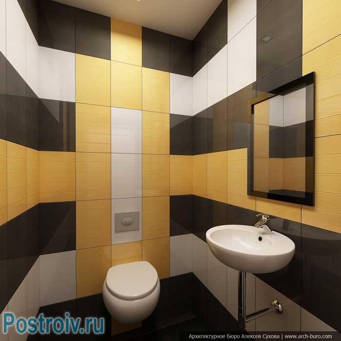Дизайн туалета с раковиной фото