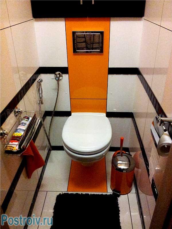 Маленький туалет дизайна