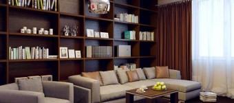 Дизайн 2-комнатной квартиры в современном стиле. Фото