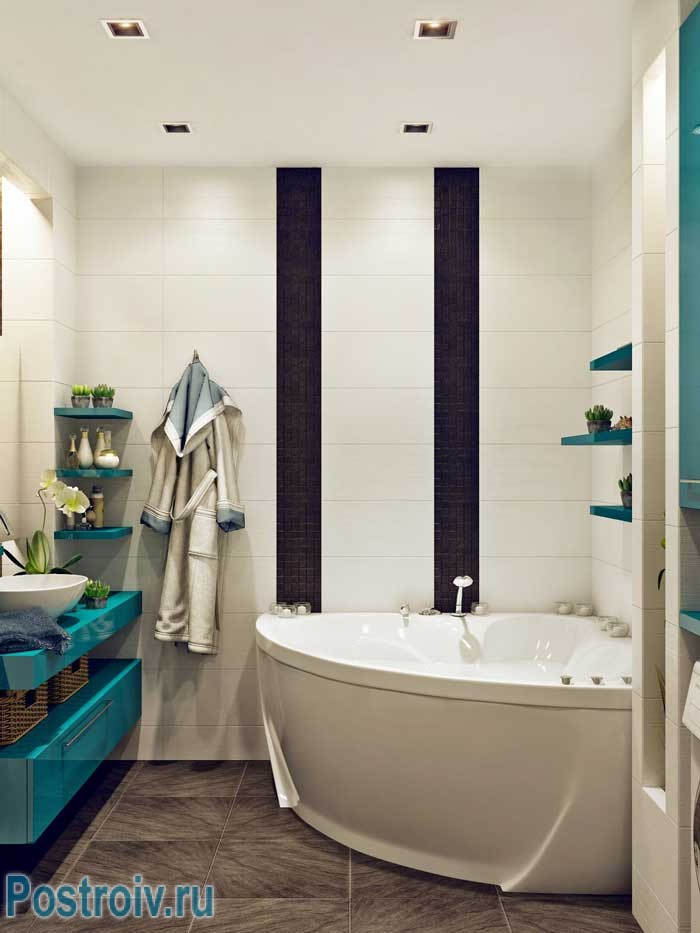 Ванна угловая дизайн