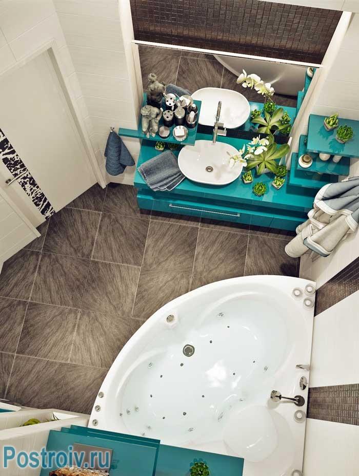 Ванная комната 130 150 дизайн