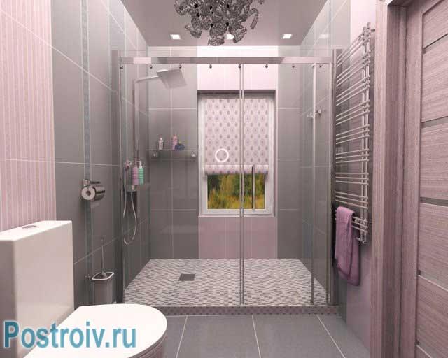 Кабинка в ванную своими руками