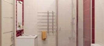 Дизайн ванной с душевой кабиной своими руками. Фото
