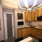 Встроенная бытовая техника на кухне экономит пространство - Фото