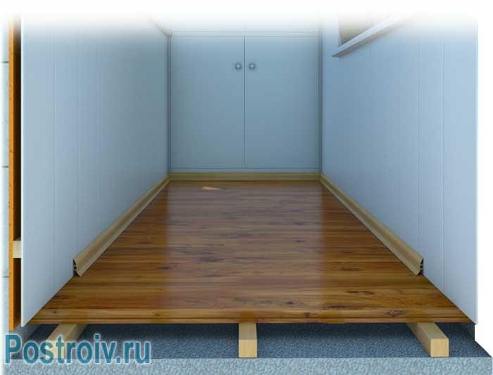 Из чего сделать пол на балконе или лоджии: материалы.