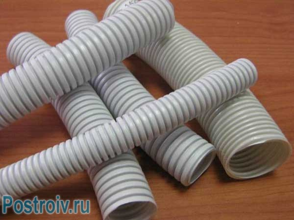 Гофры для проводки пластиковые