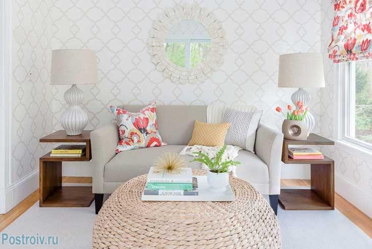 Расположение мебели в маленькой комнате - Фото