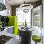 Дизайн современной кухни 9 кв. м. Фото