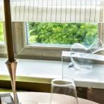 Декорирование окна на кухне. Фото