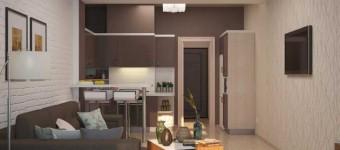дизайн квартиры студии минимализм 30- 35 кв. м. - Фото