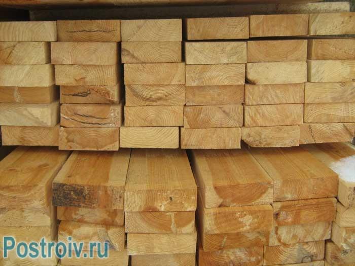 Сколько доски обрезной в одном кубе - Фото