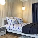 Бюджетный вариант отделки уютной спальни в 2-комнатной квартире