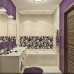 Современный дизайн интерьера совмещенной ванной комнаты с туалетом 5-6 кв. м. Фото