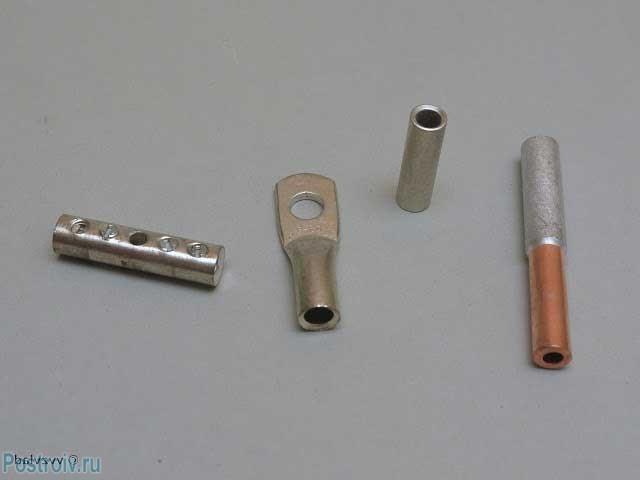 Соединительные гильзы для проводов высокого тока - Фото