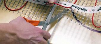 Установка электрического теплого пола своими руками - Фото