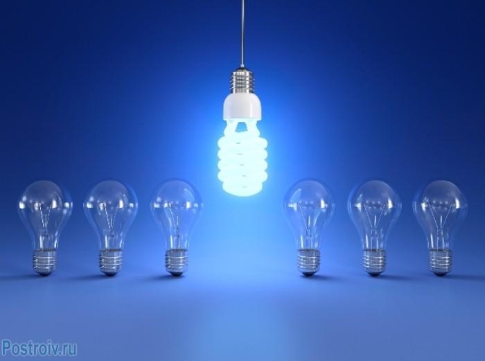 Энергосберегающая лампа - Фото 01
