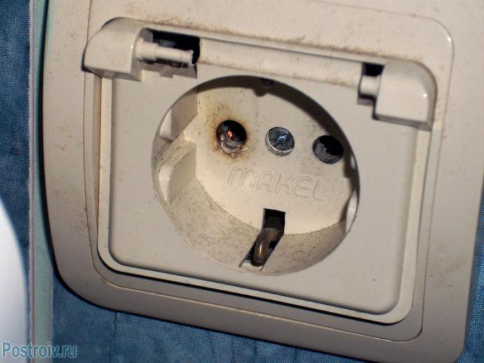 Последствия искрения выключателя - Фото 07