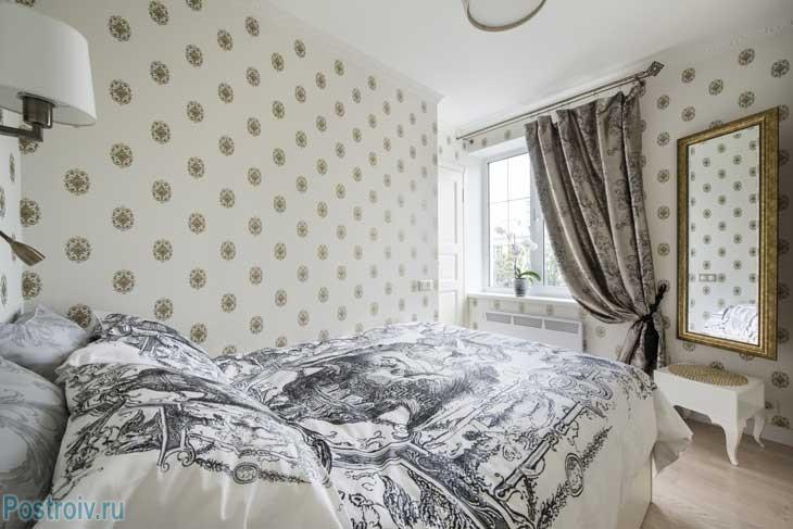 Как правильно отгородить спальню в однокомнатной квартире. Фото