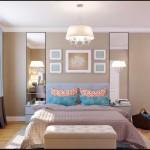 Дизайн светлой спальни 17-20 кв. м. - Фото