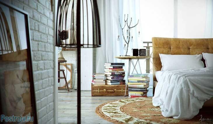 Стиль лофт в интерьере квартиры типовой планировки фото