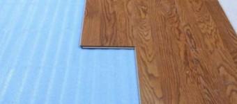 Какая подложка под ламинат лучше?