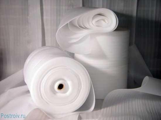 Пенополиэтиленовые подложки. Фото