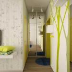 Хороший пример оформления интерьера 1-комнатной квартиры