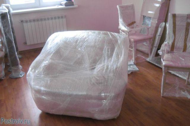 Защита мебели от ремонтной пыли - Фото 03