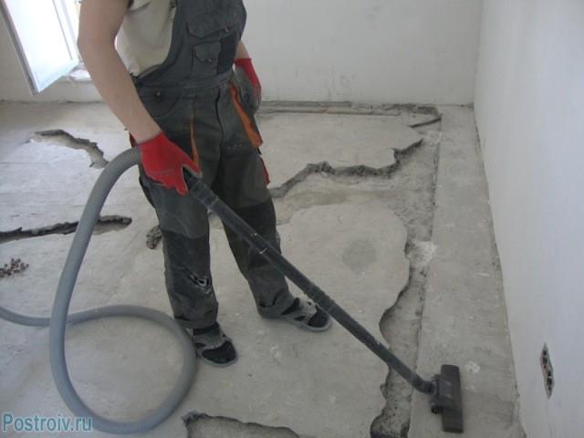 Уборка строительной пыли - Фото 09