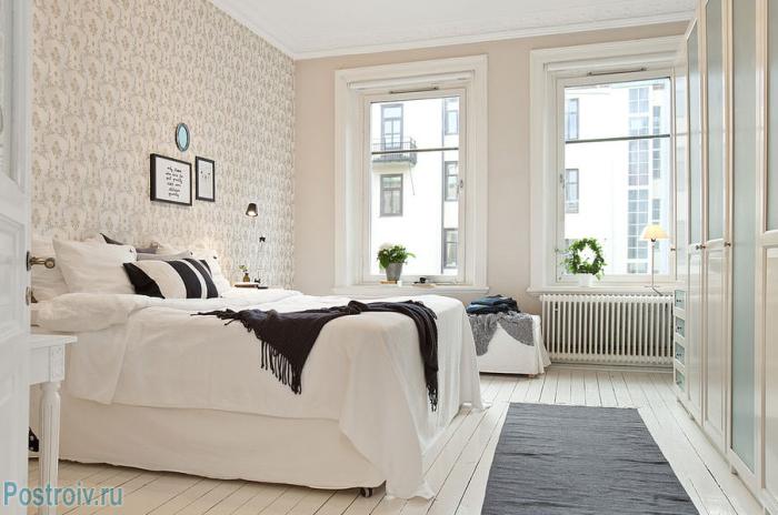 Спальня в скандинавском стиле - Фото 21