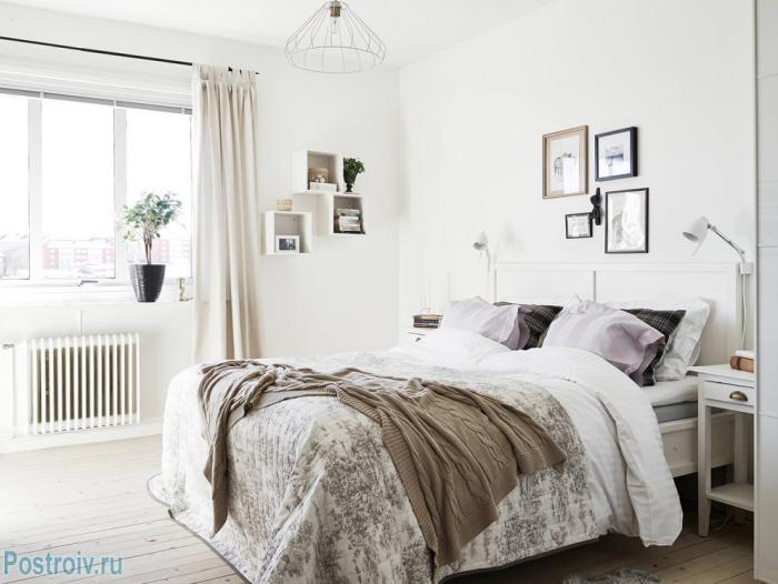 Скандинавский дизайн в спальне - Фото 19