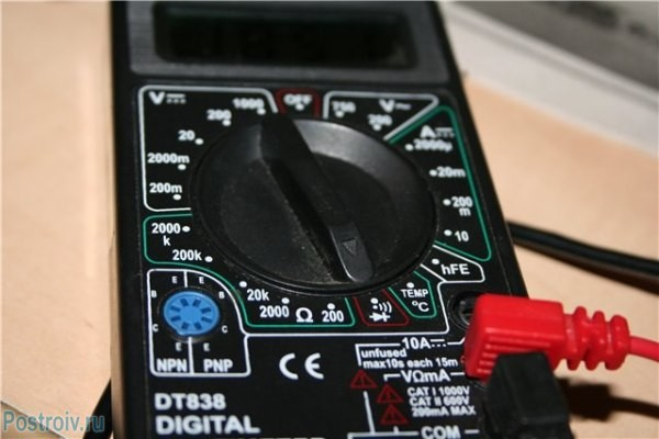 Мультиметр для прозвонки проводов - Фото 03