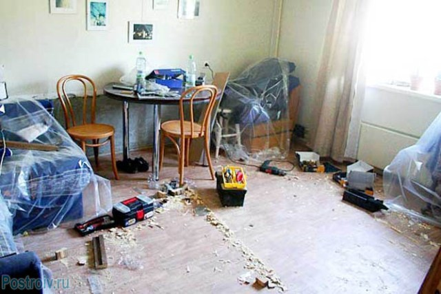 Строительная пыль после ремонтных работ - Фото 10