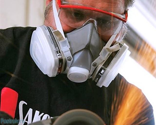 Защита дыхательных путей респиратором - Фото 07