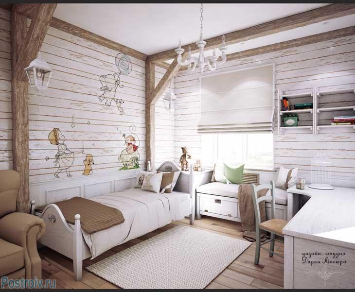 дизайн интерьера целой квартиры в стиле прованс как оформить в