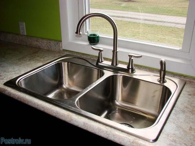 Обустройство кухонного подоконника под мойку - Фото 13