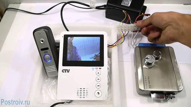 Как сделать изотермический Фотодомофон подключение своими руками