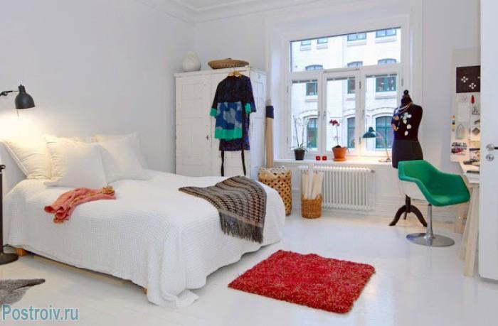 Мебель в спальне скандинавского типа - Фото 12