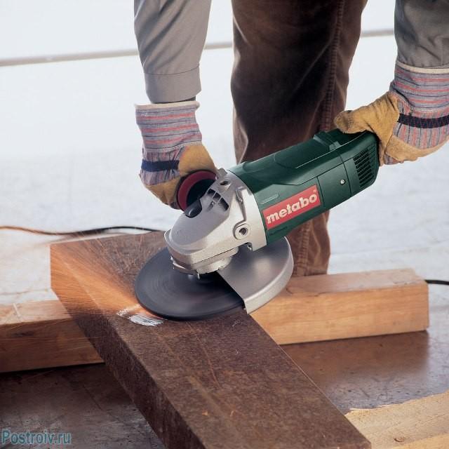 Правильное положение инструмента при работе - Фото 09