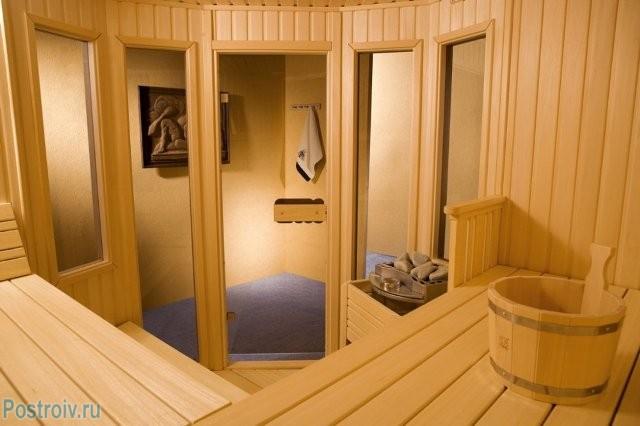 Внутренняя отделка сауны - Фото 09