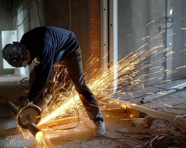 Работа с болгаркой - Фото 02