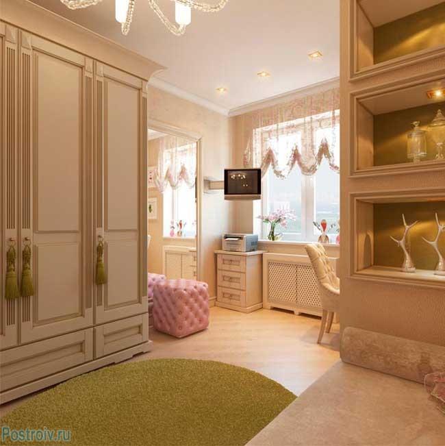 Английский стиль в детской комнате. Фото