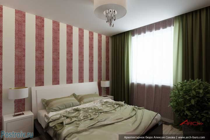 Красивая спальня. Фото
