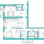 Планировка квартиры. Фото