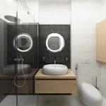 Ванная комната. Ничего лишнего. Современный стиль. Фото