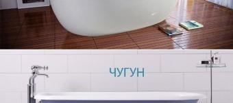 Чугунная или акриловая ванна? - Фото 01